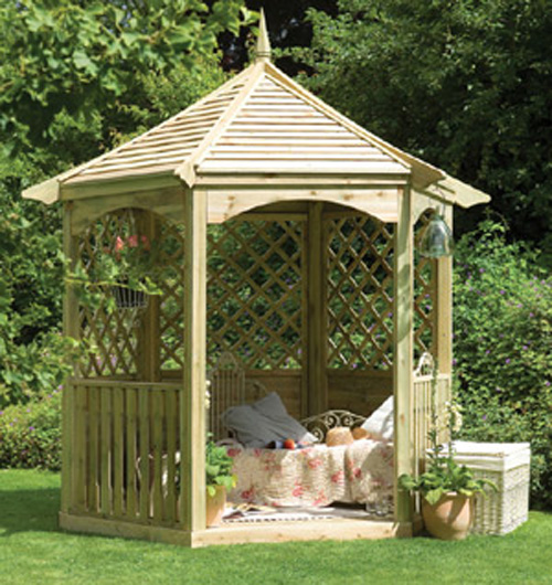 Small Backyard Gazebo