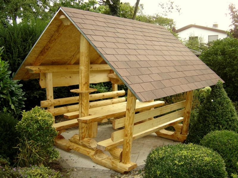 Téma - Altánok - Malé drevené altánky (nápady, inÅ¡pirácie) • www ...