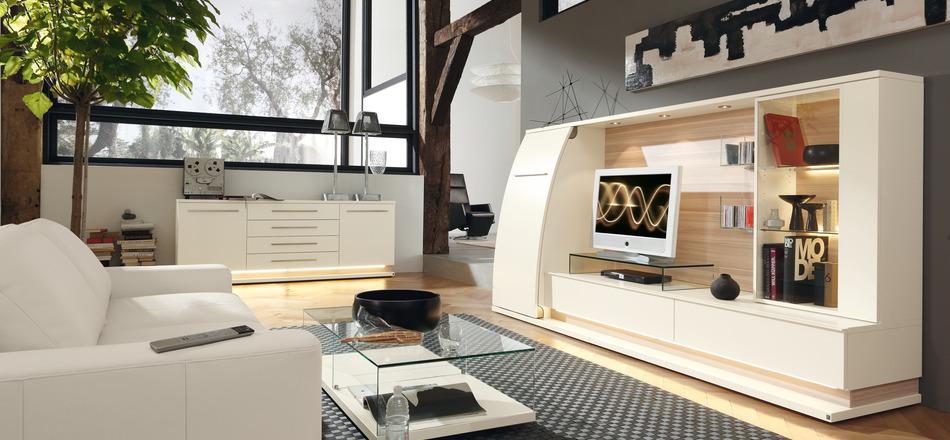T ma modern ob va ky telev zne steny in pir cie for Wohnzimmerverbau modern